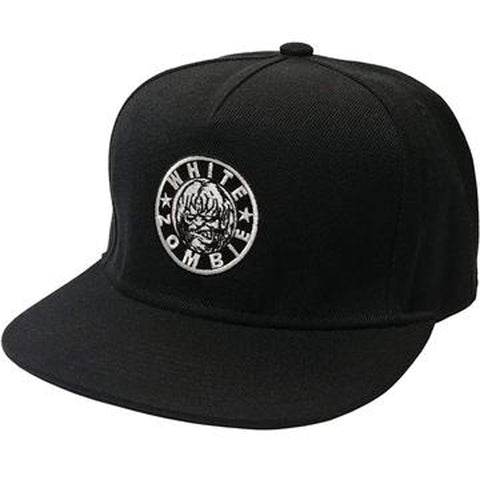 WHITE ZOMBIE (Circle Logo) Snap-back Hat