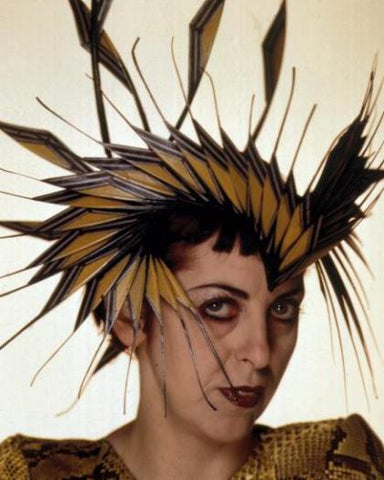 Hat by Philip Treacy, photographer unknown