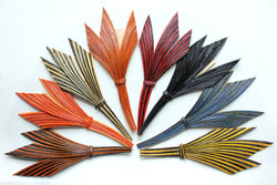 Feather quill fancy trim, 3063.