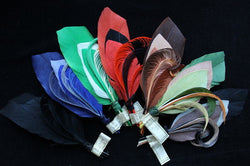 Feather quill fancy trims, 3394.