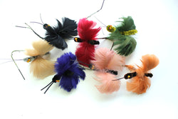 Feather butterfly trims, 5527.