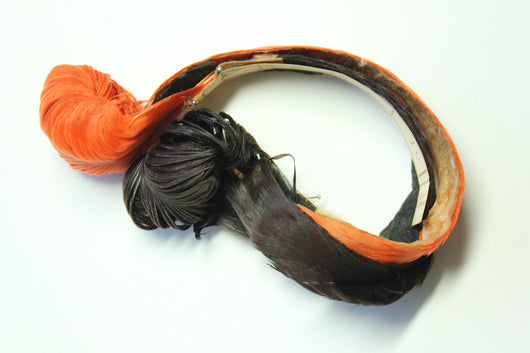 Feather fancy hat band trim, 3597.