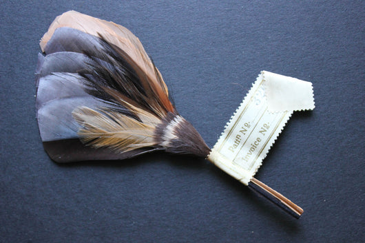 Small feather wing trims, 3263.