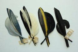 Feather quill fancy trim, 3416.
