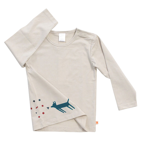 Dogs Chat Graphic Longsleeve Tee