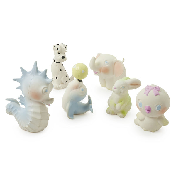 Vintage Animals Bath Toys