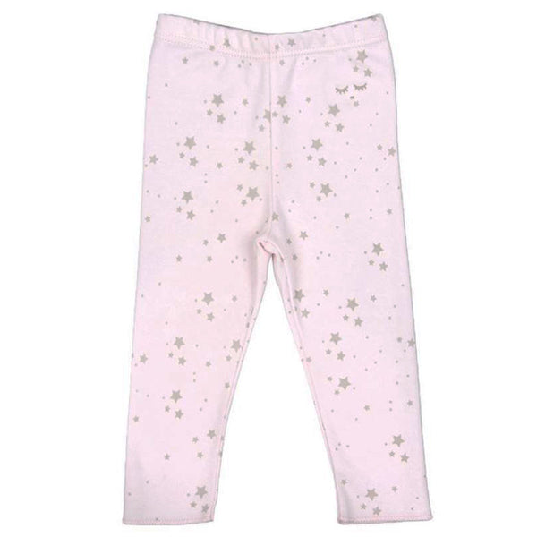 Mini Stars Leggings - Pink