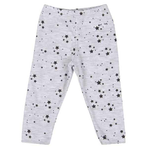 Mini Stars Leggings - Grey