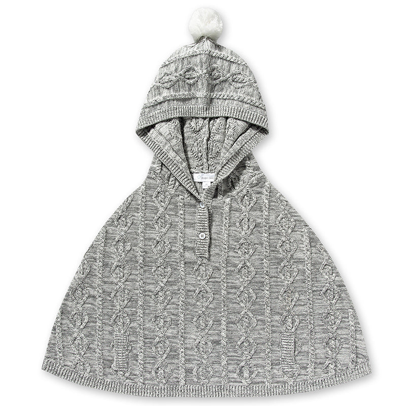 Northern Nights Cable Poncho
