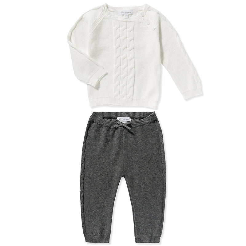 Northern Nights Cable Pullover & Jogger