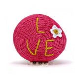 Organic Peace & Love Rattle