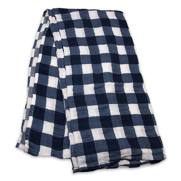 Jack Plaid Cotton Swaddle
