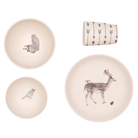 Forest Supper 4 Piece Set