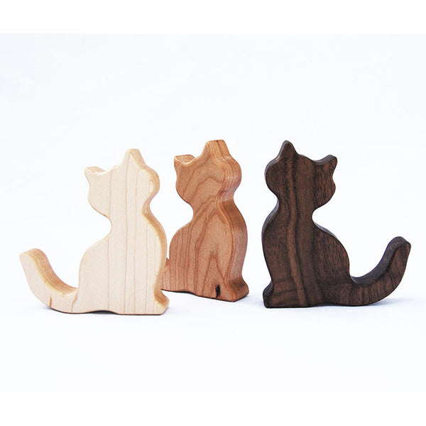 Cat Wood Rattle