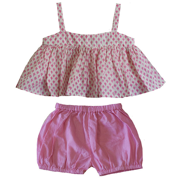 Ruby Top & Bloomer Set
