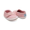 Pink Canvas Tiny TOMS Crib Alpargatas