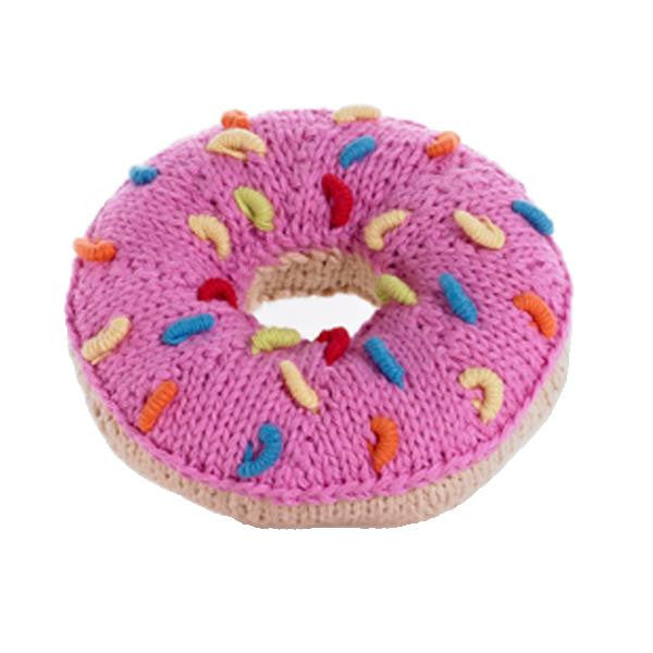 Pink Donut Rattle