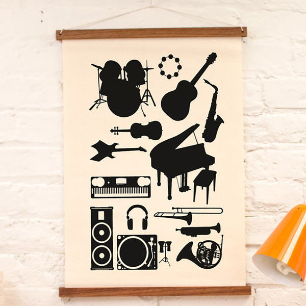 Instruments Wall Art