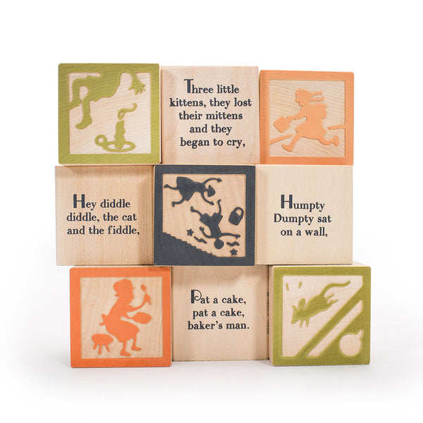 Nursery Rhyme 9 Block Set