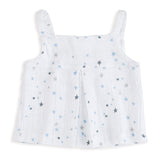 Night Sky Starburst Smock Top