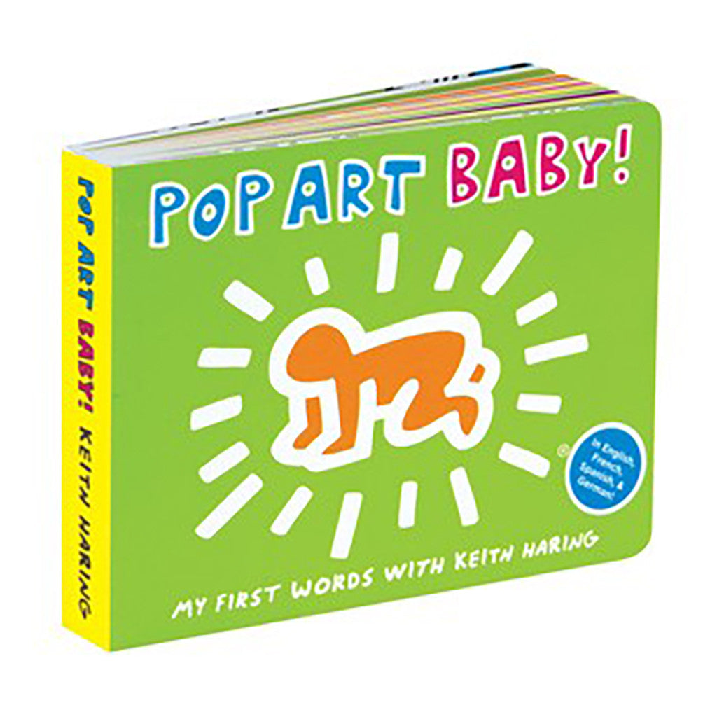keith haring pop art baby board book