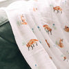 Fox Cotton Swaddle