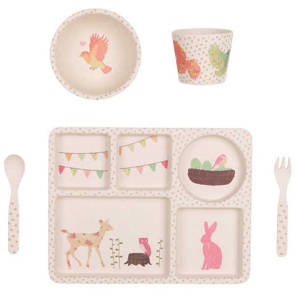 Woodland Tea Party 5 Piece Set