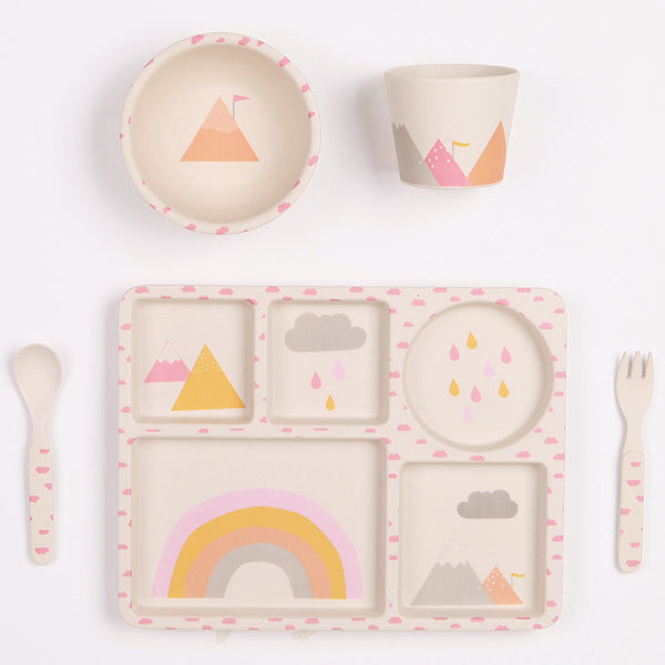 Rainbows 5 Piece Set