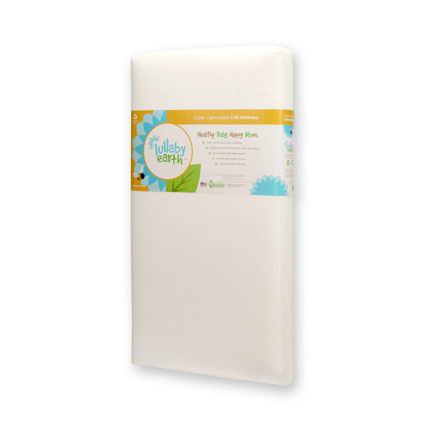 Lullaby Earth Lightweight, Waterproof Crib Mattress
