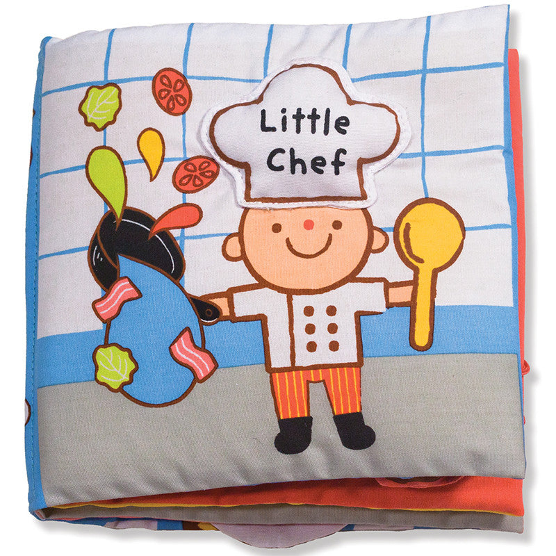 little chef soft cloth book front cover