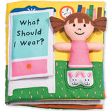 "soft cloth ""What Should I Wear?"" book cover"