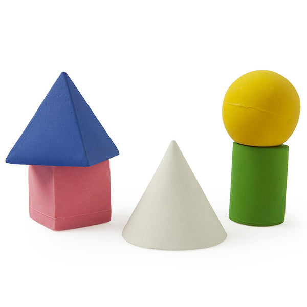 Geometric Figures Bath Toys Set of 5