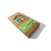 wood embossed math groovie blocks in package
