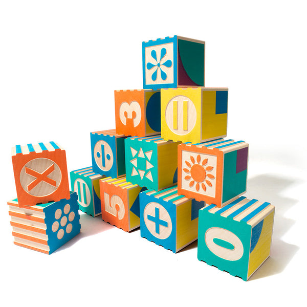Groovie Math & Patterning Block Set