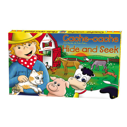 The Friendly Farm Hide and Seek - Owlkids - Reading for kids and literacy resources for parents made fun. Books helping kids to learn. - 1