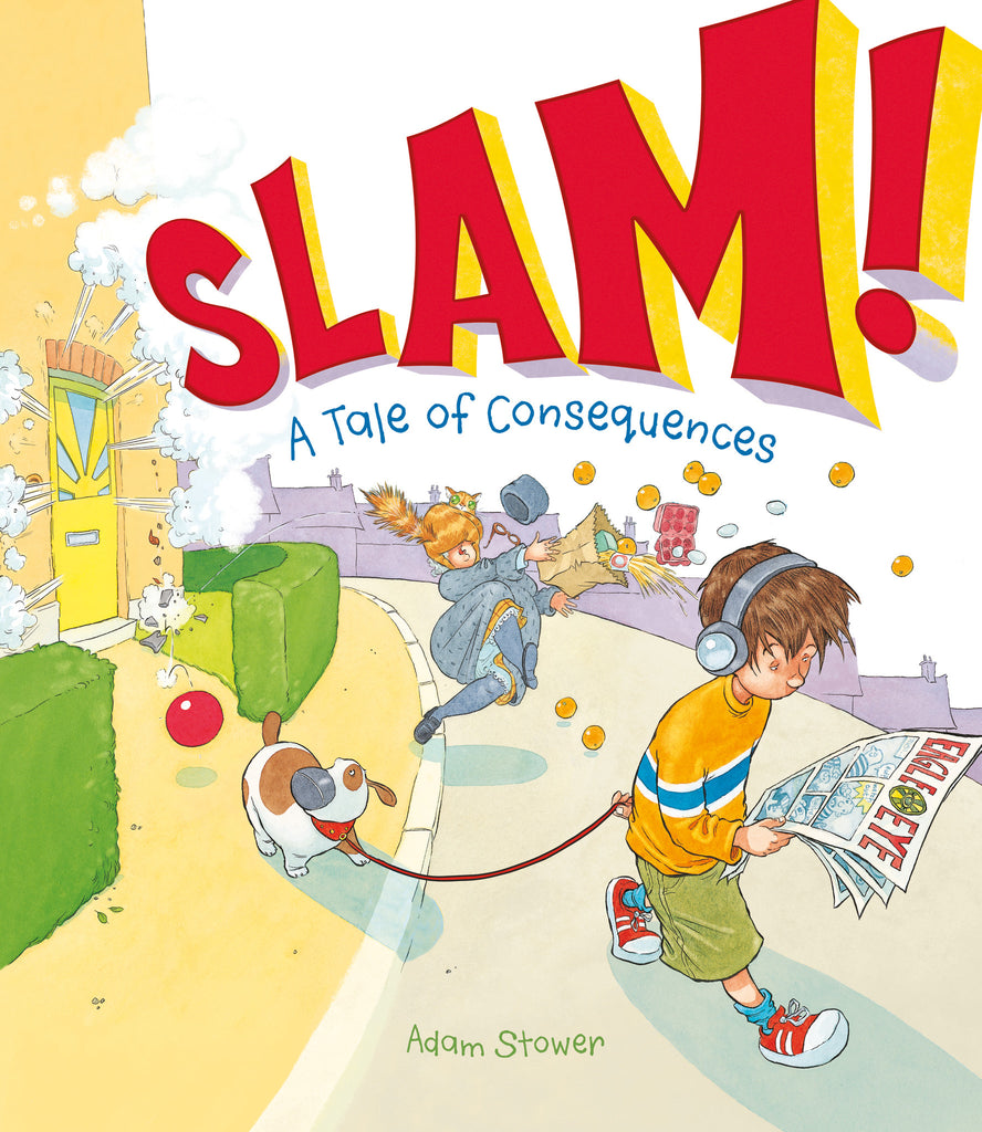 Slam! - Owlkids - Reading for kids and literacy resources for parents made fun. Books helping kids to learn.