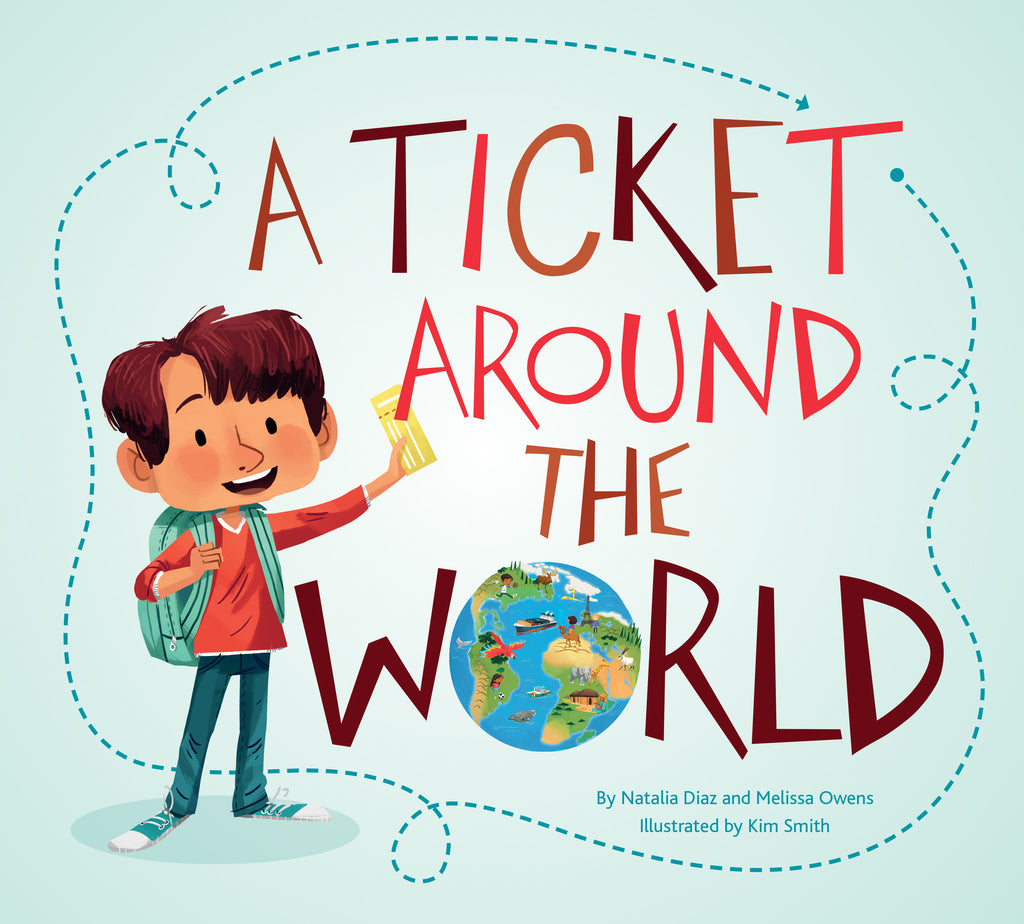 A Ticket Around the World - Owlkids - Reading for kids and literacy resources for parents made fun. Books helping kids to learn.