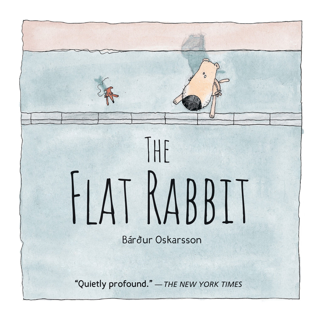 The Flat Rabbit - Owlkids - Reading for kids and literacy resources for parents made fun. Books helping kids to learn.