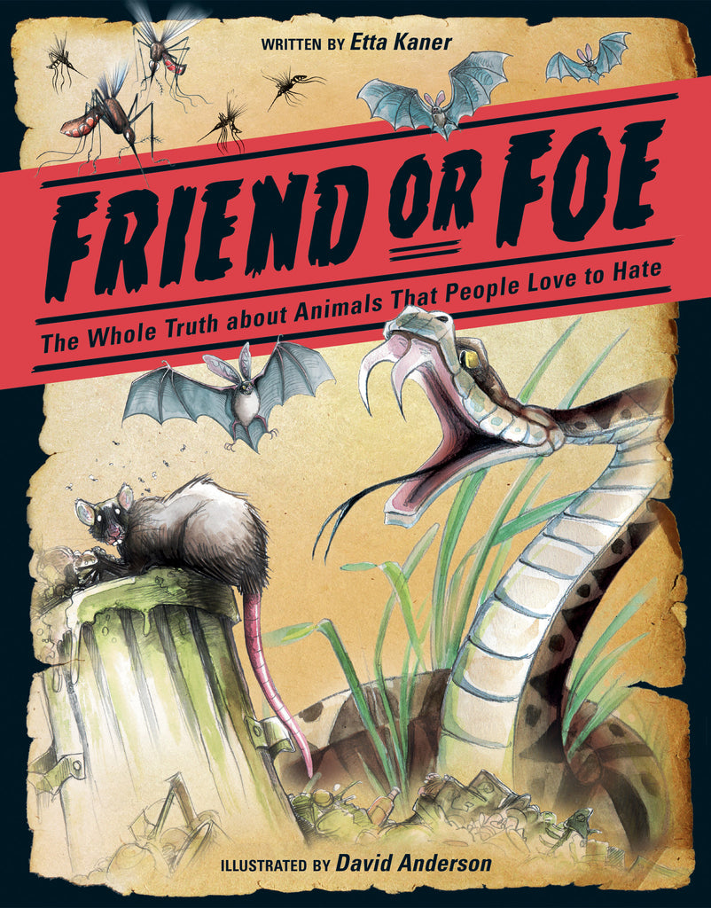 Friend or Foe - Owlkids - Reading for kids and literacy resources for parents made fun. Books helping kids to learn.