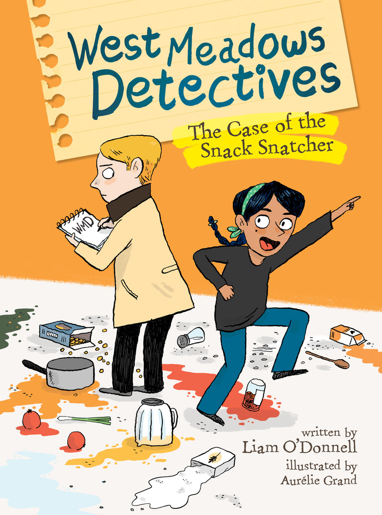 West Meadows Detectives: The Case of the Snack Snatcher - Owlkids - Reading for kids and literacy resources for parents made fun. Books helping kids to learn.