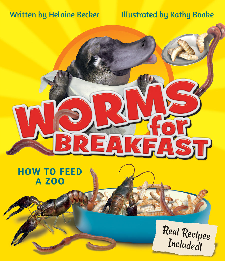 Worms for Breakfast // WBCTYS16 - Owlkids - Reading for kids and literacy resources for parents made fun. Books helping kids to learn.