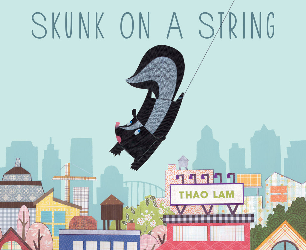 Skunk on a String - Owlkids - Reading for kids and literacy resources for parents made fun. Books helping kids to learn.