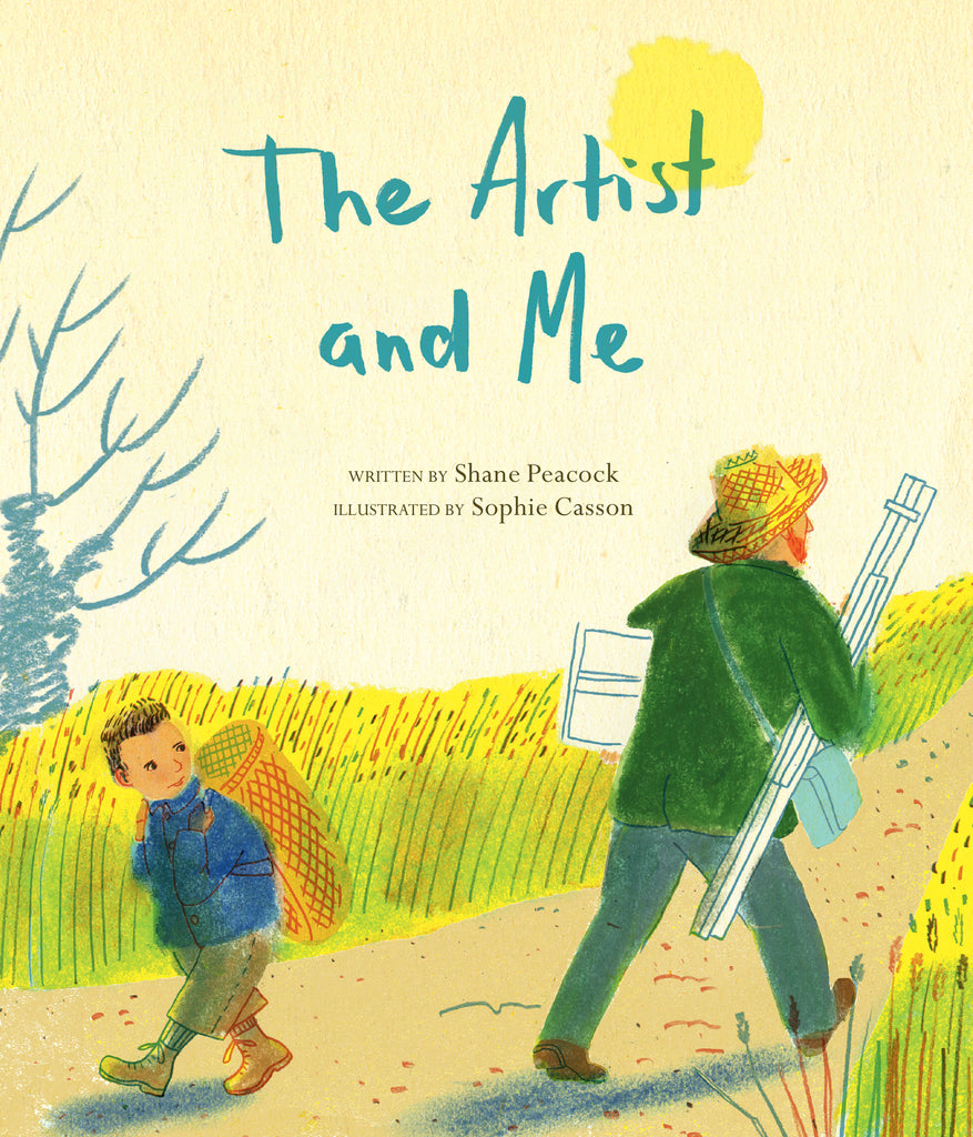 The Artist and Me - Owlkids - Reading for kids and literacy resources for parents made fun. Books helping kids to learn.