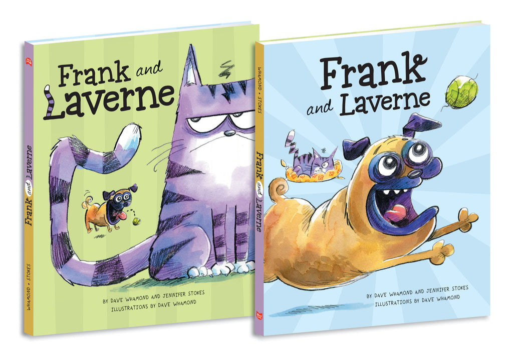 Frank and Laverne - Owlkids - Reading for kids and literacy resources for parents made fun. Books helping kids to learn.