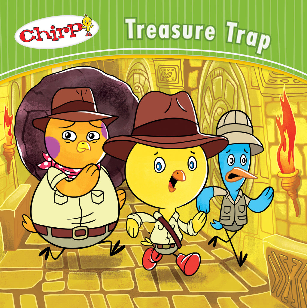 Chirp: Treasure Trap - Owlkids - Reading for kids and literacy resources for parents made fun. Books helping kids to learn.