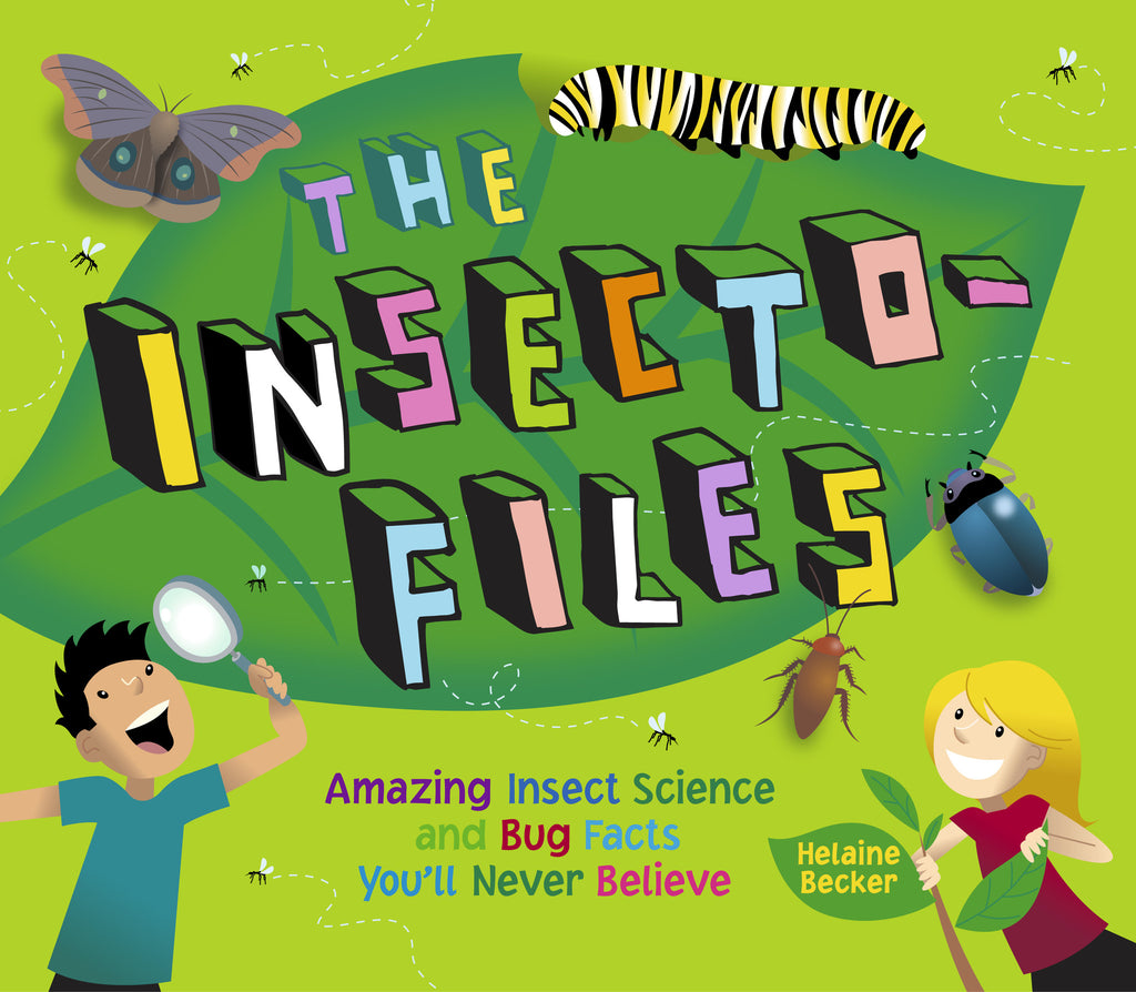 The Insecto-files - Owlkids - Reading for kids and literacy resources for parents made fun. Books helping kids to learn.