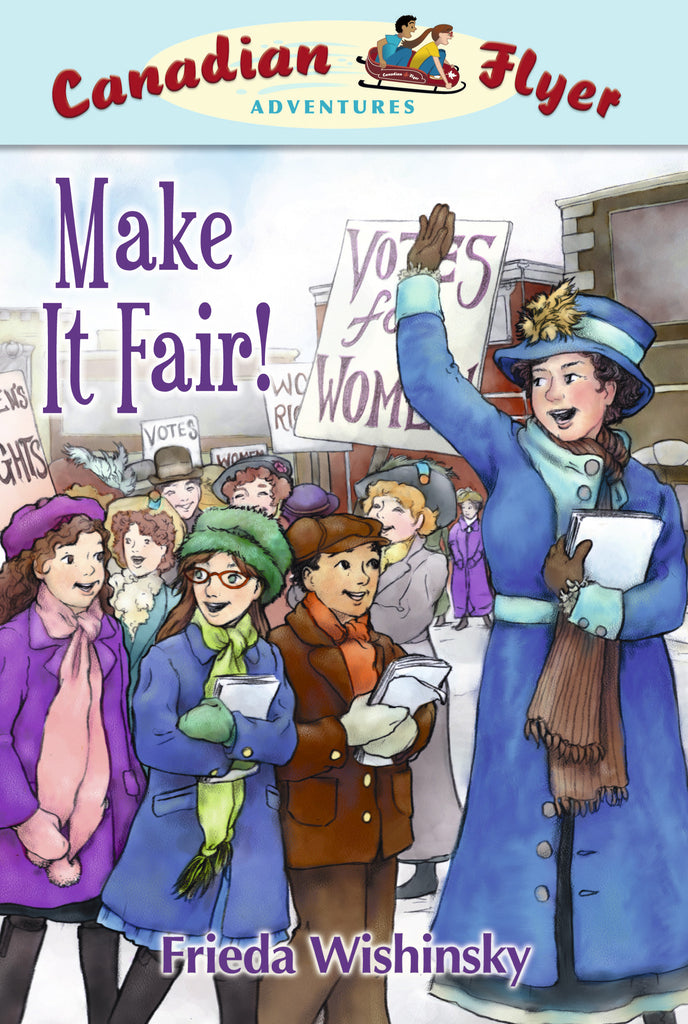 Make It Fair! - Owlkids - Reading for kids and literacy resources for parents made fun. Books helping kids to learn.