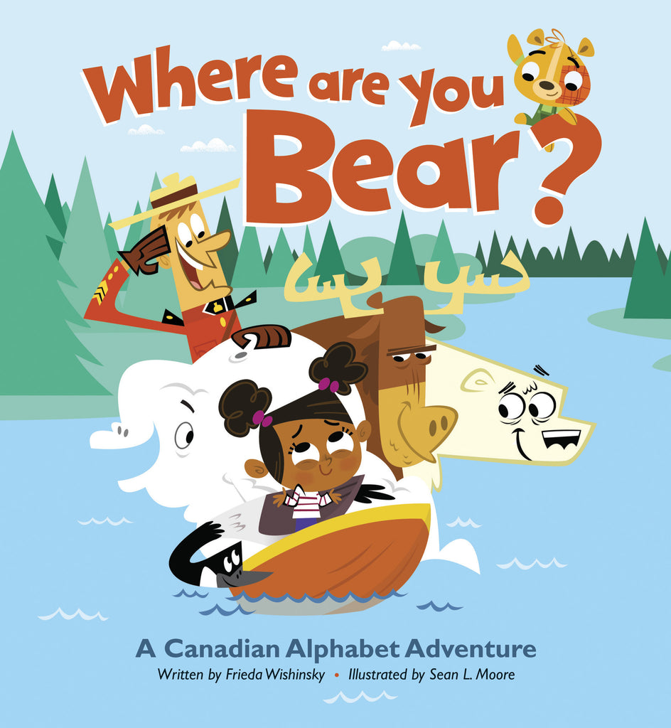Where Are You, Bear? - Owlkids - Reading for kids and literacy resources for parents made fun. Books helping kids to learn.