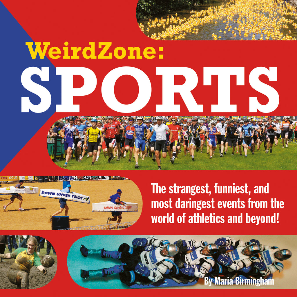Weird Zone: Sports - Owlkids - Reading for kids and literacy resources for parents made fun. Books helping kids to learn.