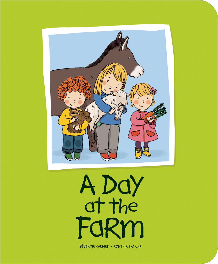 A Day at the Farm - Owlkids - Reading for kids and literacy resources for parents made fun. Books helping kids to learn.